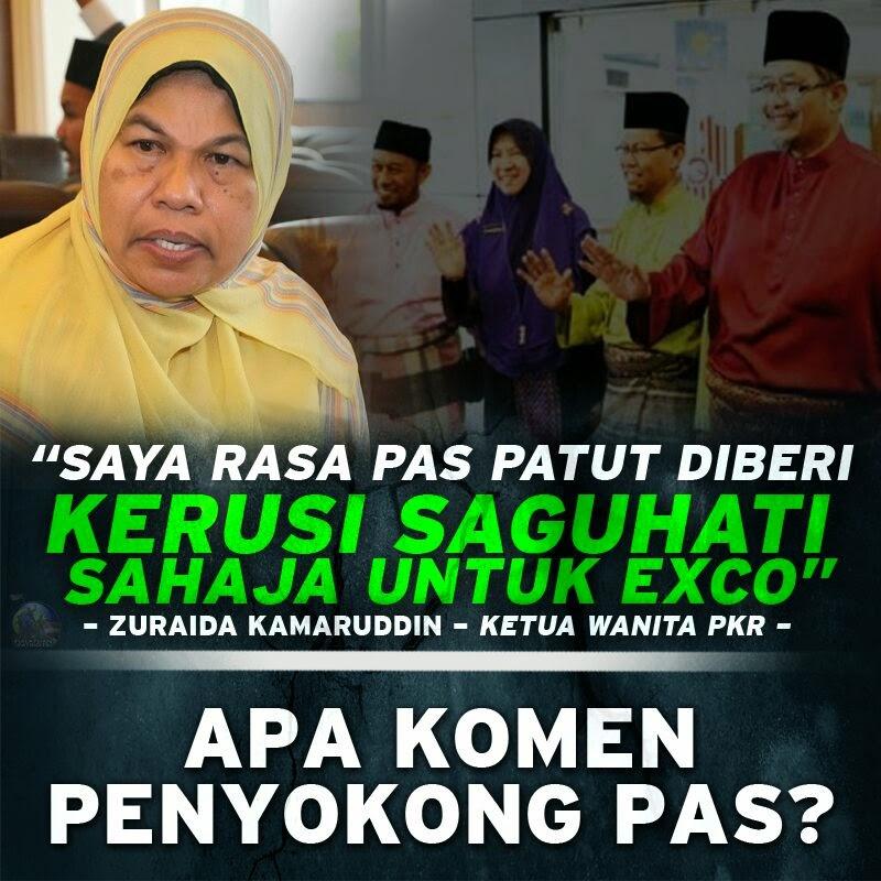 Ahli PAS Selangor Cabar PKR Lawan Semua Kerusi PRU14 Lawan Dengan PAS