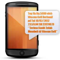 Istana Reload - Fitur SMS Buyer