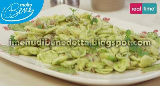 Pasta alle Triglie con Pesto alle Acciughe di Benedetta Parodi
