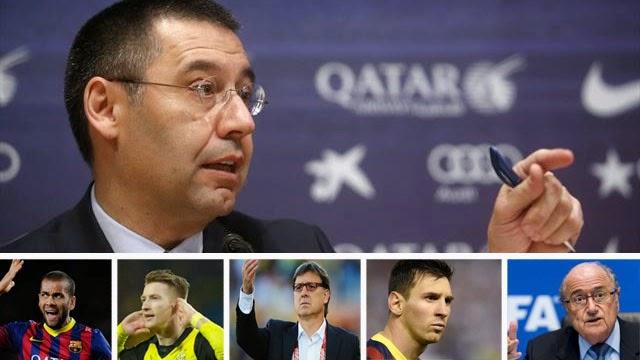 خطة بارتوميو الخماسية لانقاذ برشلونة