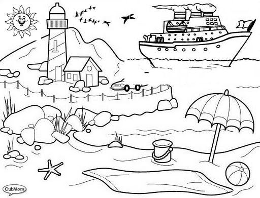 Dibujos para colorear sobre contaminacion del suelo - Imagui