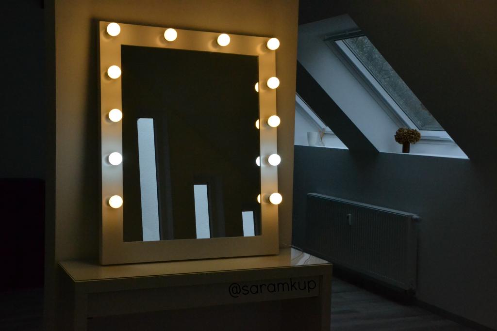 Saramkup qu tipo de luz instalar en un tocador la for Espejo tipo camerino