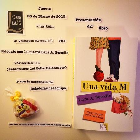 Presentación de ''Una Vida M'' en Vigo (26/03/2015)
