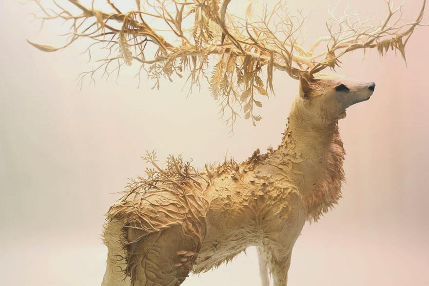 Surreal Sculptures by Ellen Jewett-4