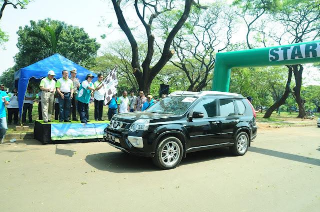 Puluhan Mobil Meriahkan Kampanye Eco Driving Fun Rally