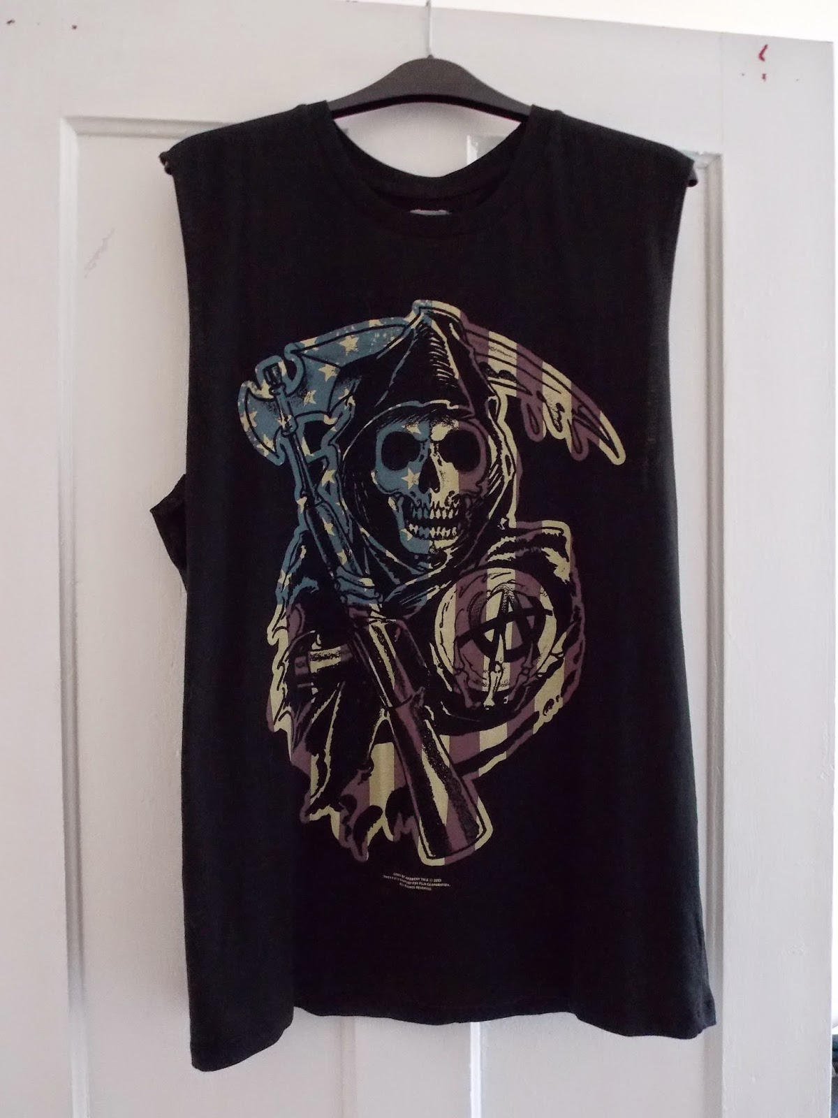ASOS Vest with Sons of Anarchy Print