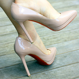 Christian Louboutin Nude Pigalle Plato