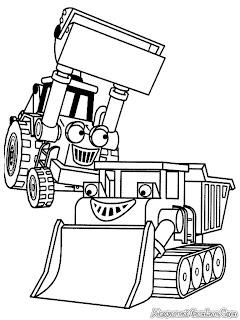 Traktor Traktor Milik Bob The Buider