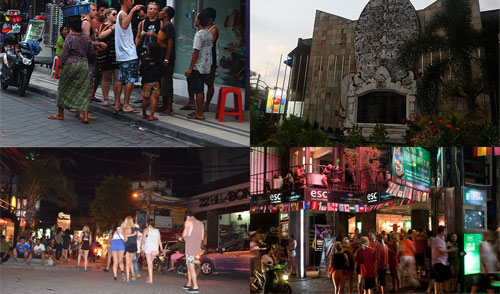 Jalan Legian, Kuta Bali
