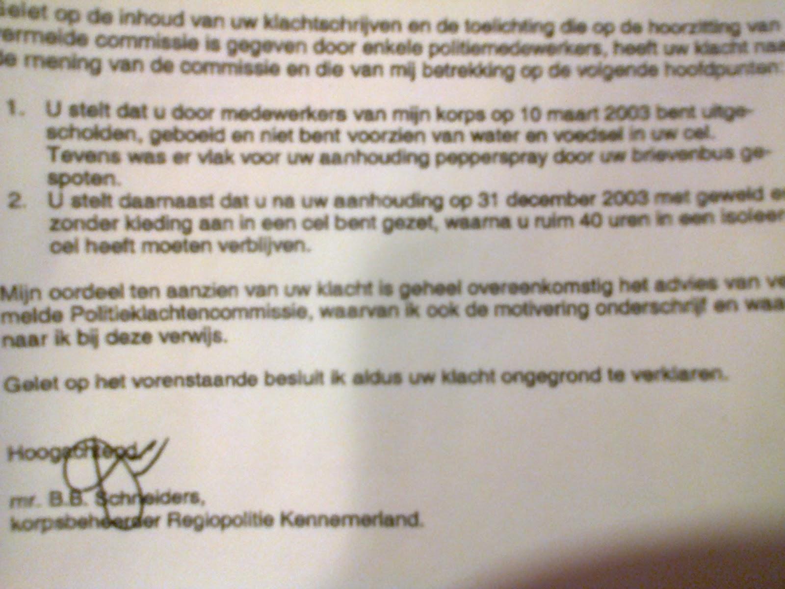 vernietigen documenten amsterdam