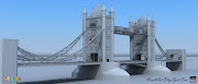 The tower bridge of the london , Work in progress . (tower bridg )