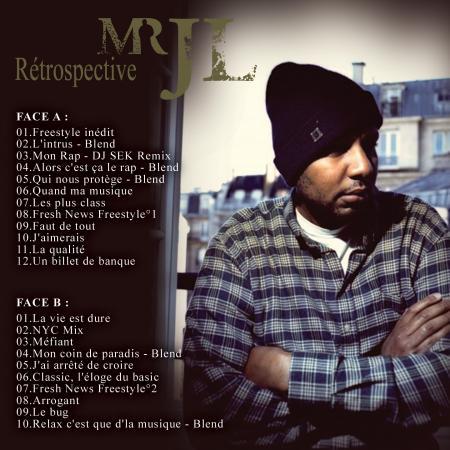Mr JL - Maintenant tu sais je suis + Réstrospective mixtape JL-Back
