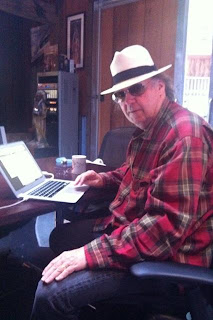 Neil Young twittering