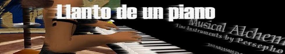 LLANTO DE UN PIANO