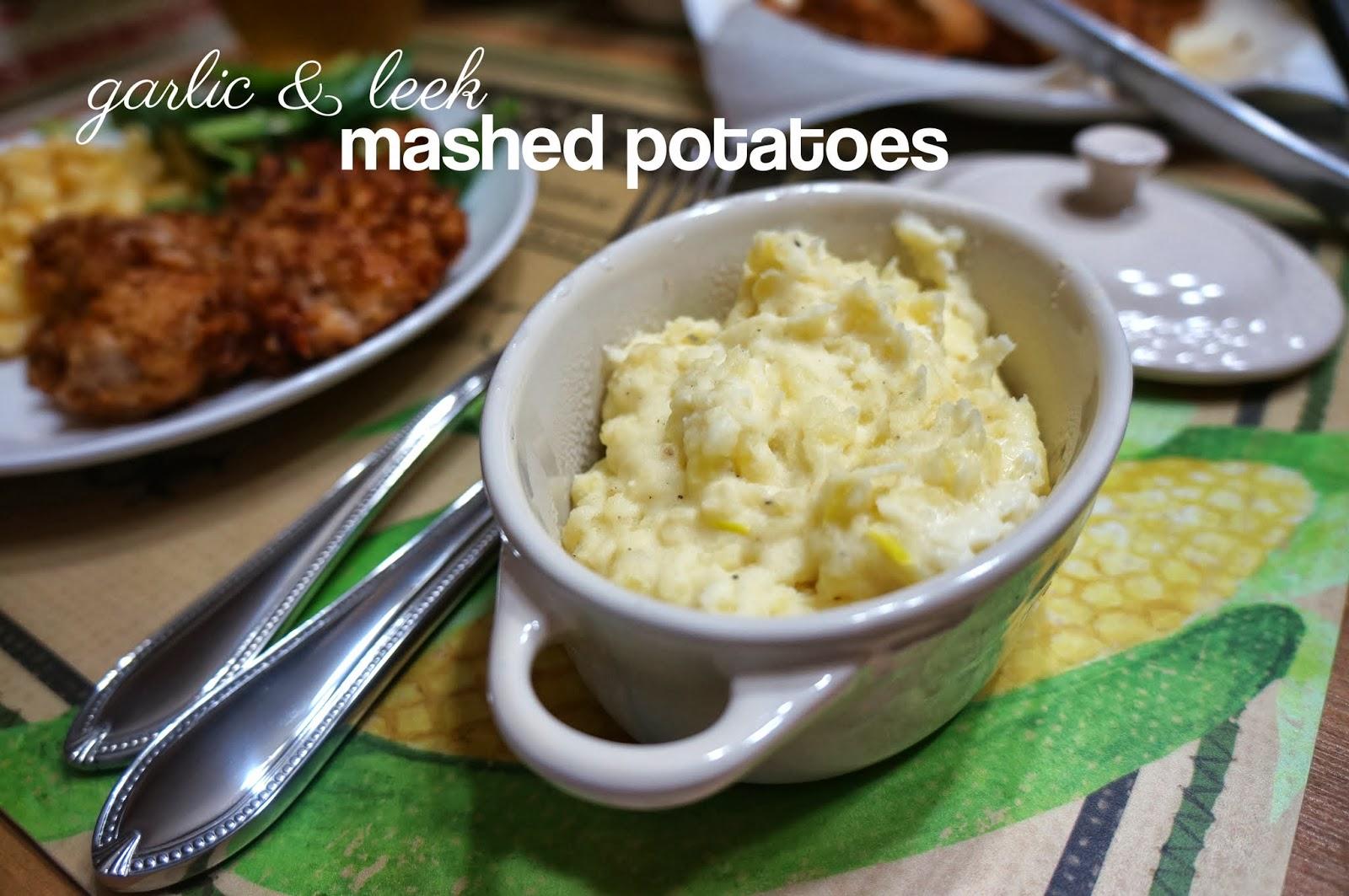 ... mashed potatoes miso mashed potatoes sour cream and leek mashed