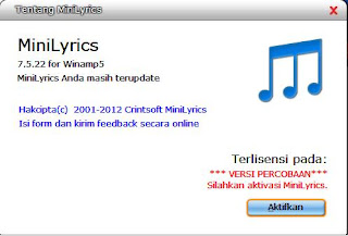 Download Software Pencari Lirik Lagu