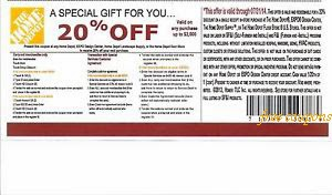 10 Home Depot Movers Coupon a Limited