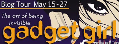 Blog Tour: Gadget Girl: The art of being invisible by Suzanne Kamata