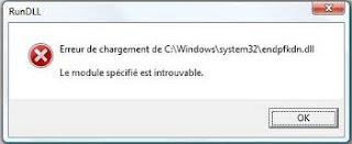 corriger probl�me fichier