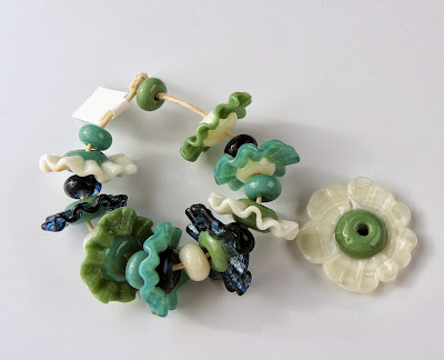 Lampwork beads by Jodie Marshall