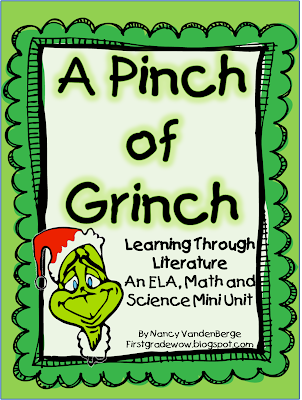 we started the week off by reading the book how the grinch stole christmas then we followed that up with watching both moviesthe original cartoon - How The Grinch Stole Christmas Activities