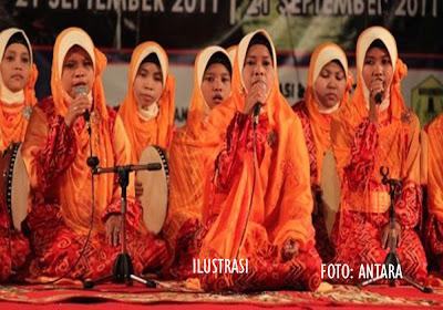 Dharma Wanita Gelar Peringatan Maulid Habsyi