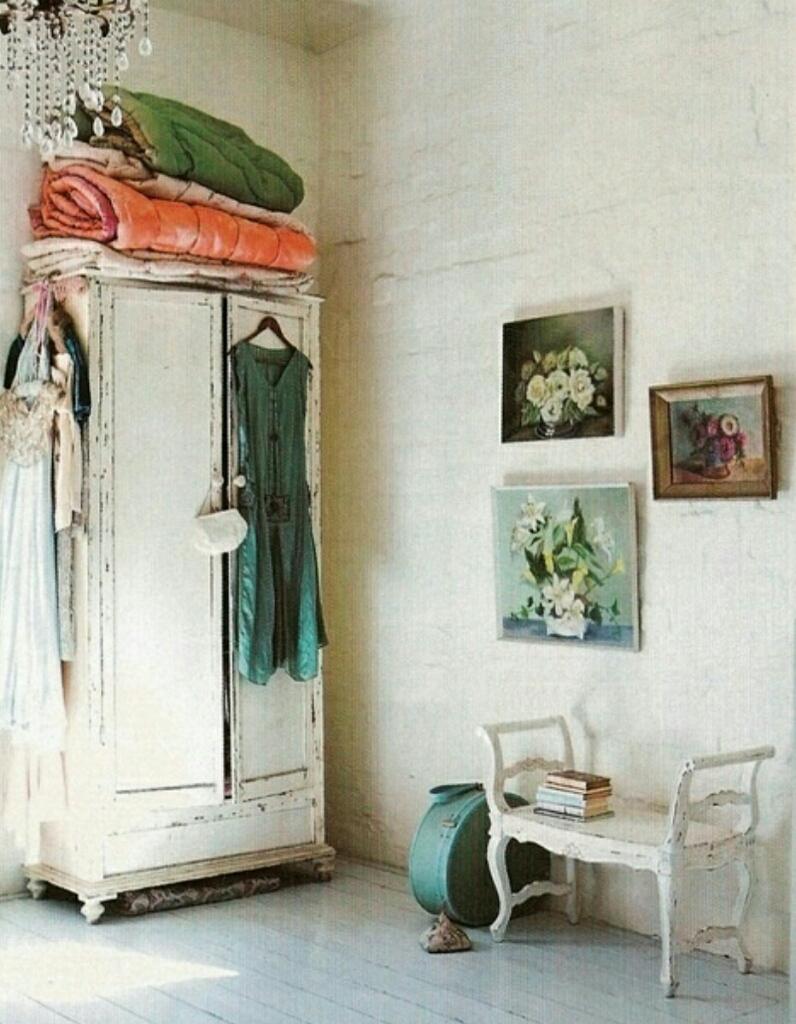 Ideas para decorar un dormitorio con estilo vintage - Ideas para decorar un dormitorio ...