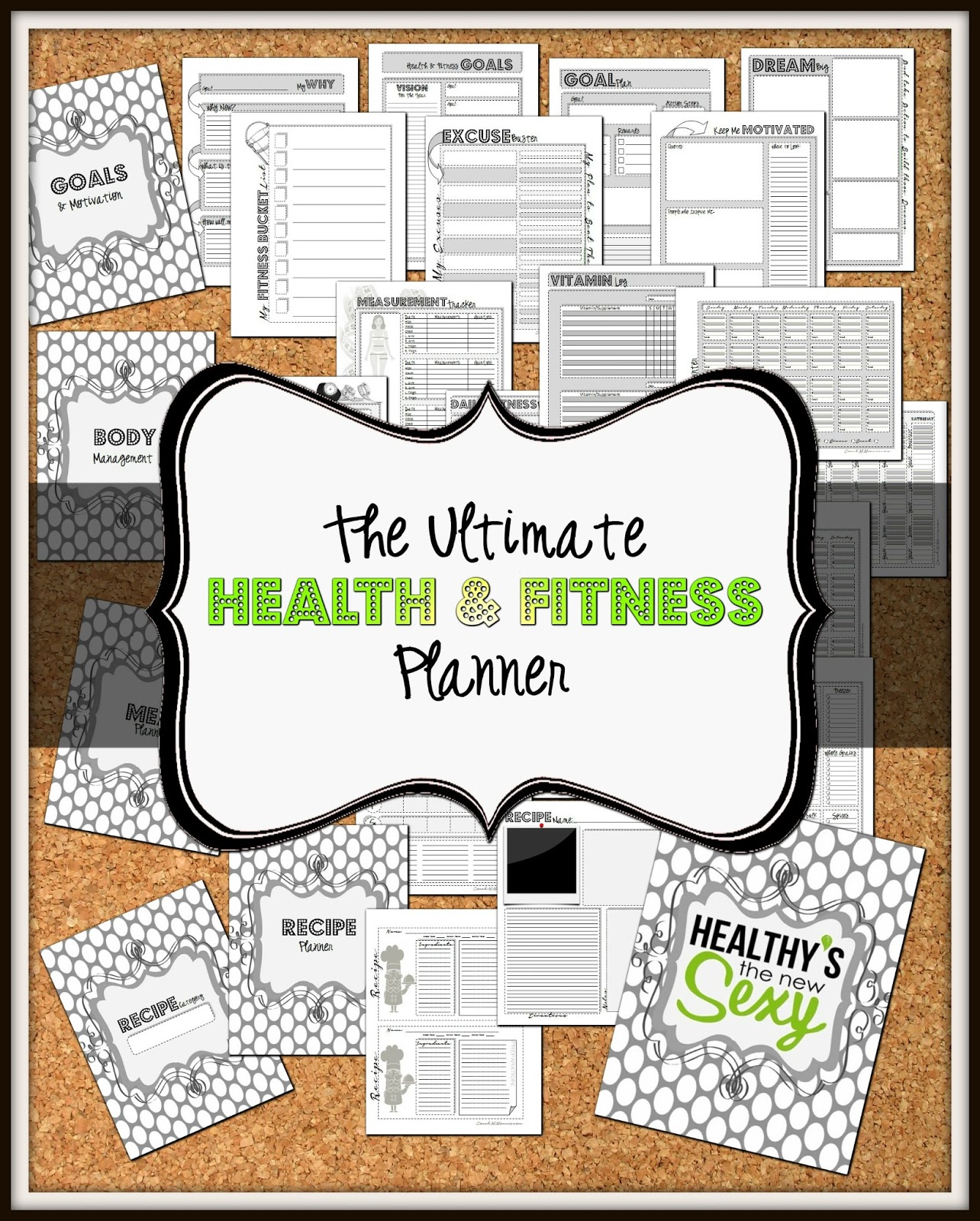 The Ultimate Health And Fitness Planner To Insanity Amp Back