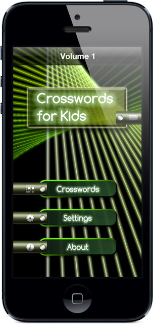 Crosswords for Kids splash screen
