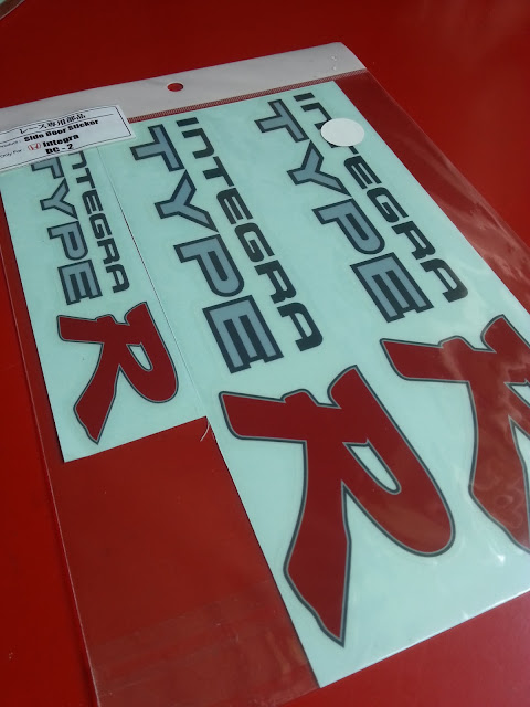 honda dc2 sticker