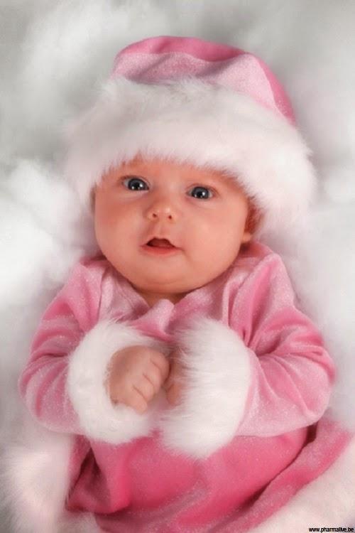 Beau bébé fille photo