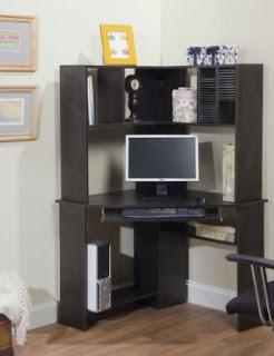 Corner Computer Desks For Small Spaces: Corner Computer Desks With ...