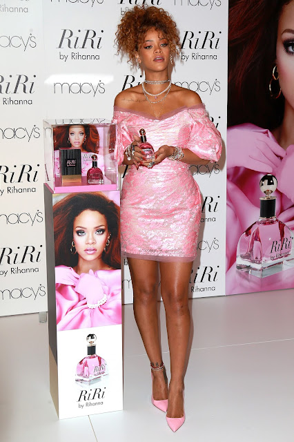Actress, Singer @ Rihanna - RiRi By Rihanna Fragrance Unveiling At Macy's Downtown Brooklyn