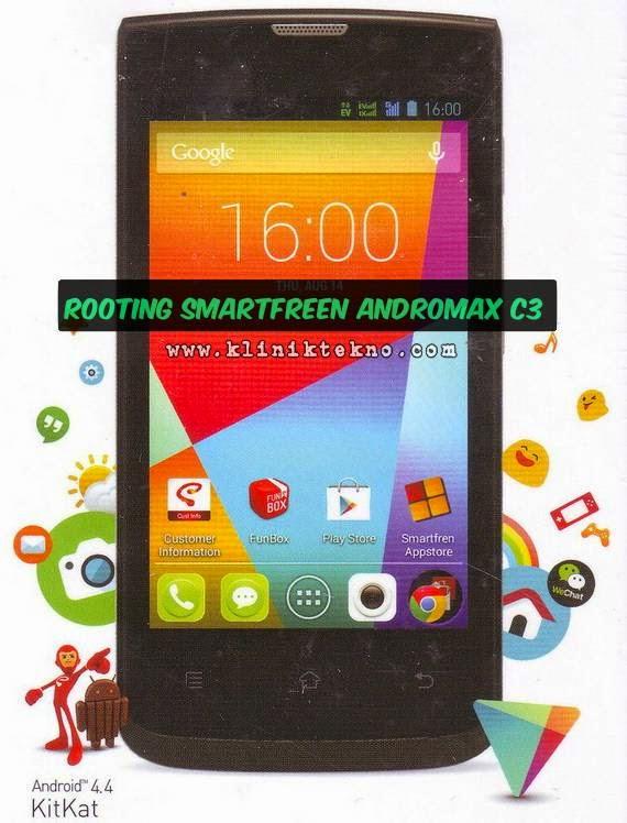 Cara Root Smartfren Andromax C3 Paling Mudah dan Simple