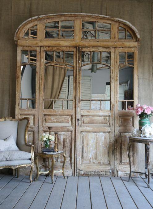Carmen f gonz lez puertas vintage para una delicada for Decoracion puertas vintage