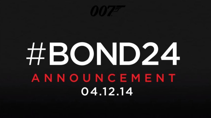 Bond 24 SPECTRE Announced