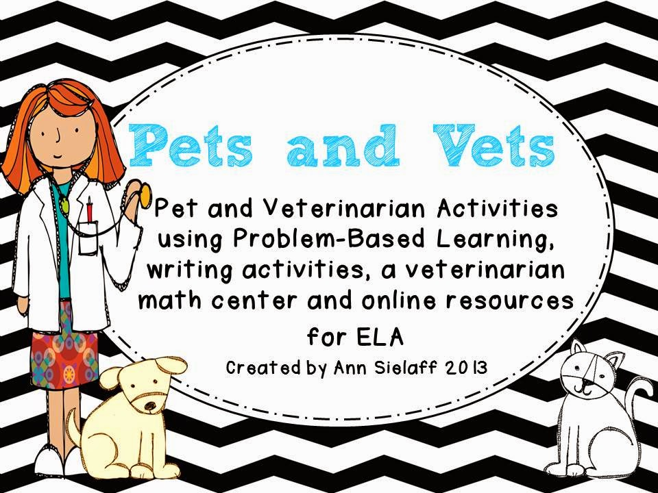 http://www.teacherspayteachers.com/Product/Pets-and-Vets-Animal-and-Veterinarian-Activities-for-ELA-and-Math-729986