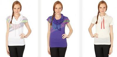 Camisetas manga corta para mujeres