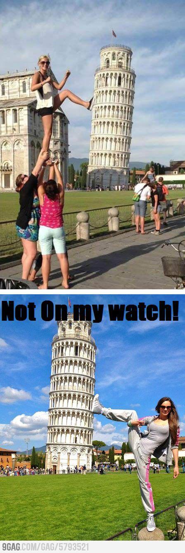 Pisa Tower's Guard