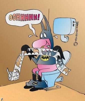 gambar kartun batman lucu