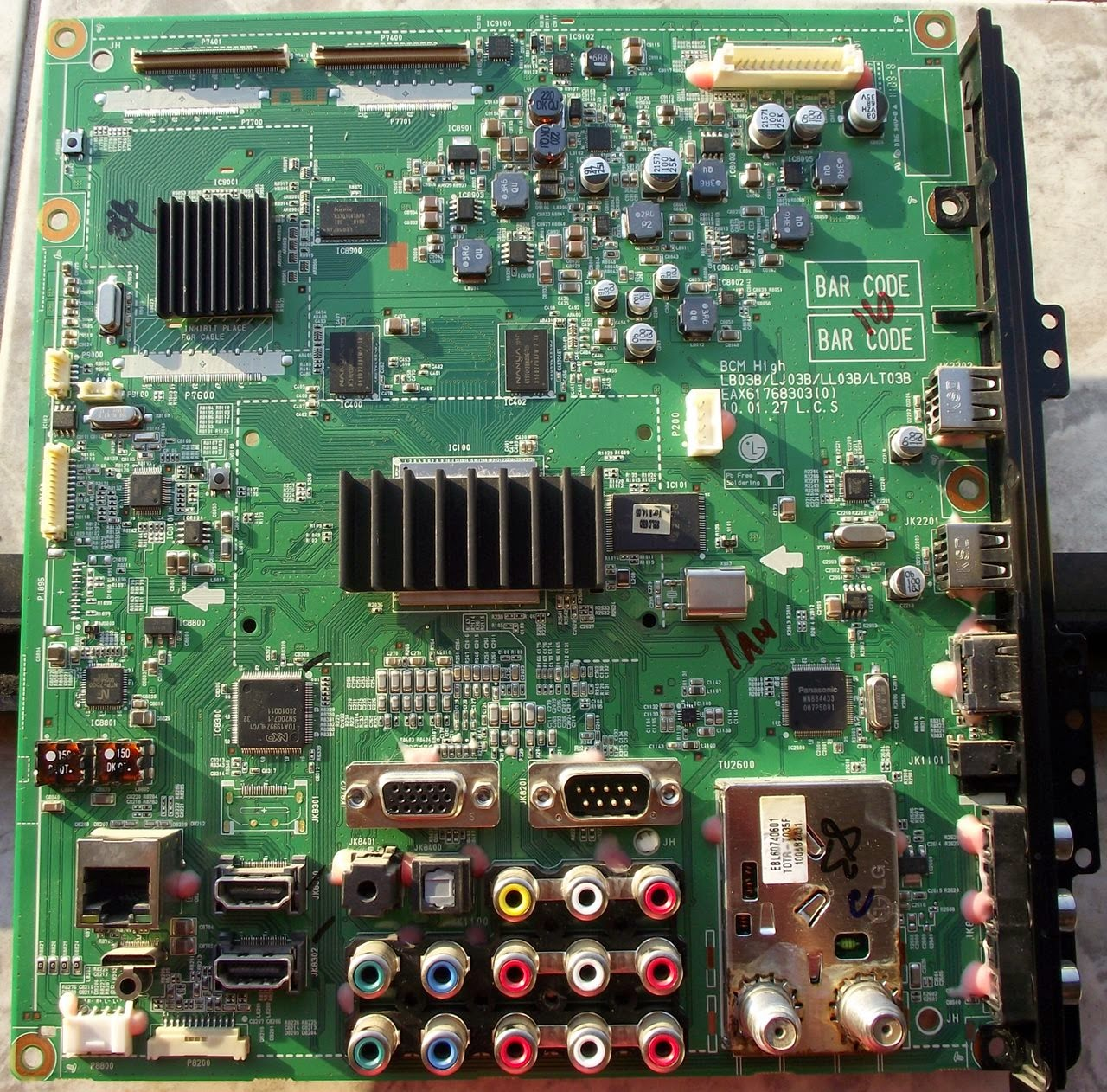 Placa principal TV LG32LD650