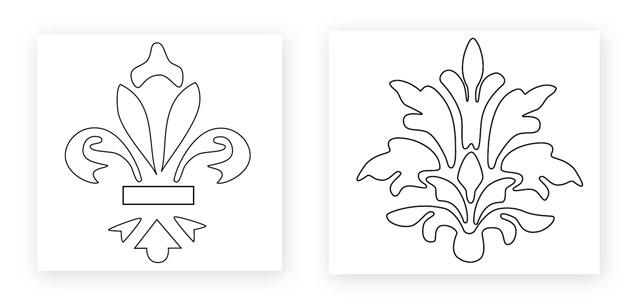 Moldes gr ficos pintura no pinterest artesanato - Moldes para pintar paredes ...