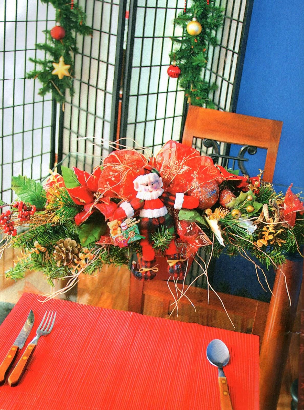 Detodomanualidades como hacer un centro de mesa navide o - Centros de mesa navidenos faciles ...