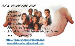 BE A VOICE FOR THE UNBORN