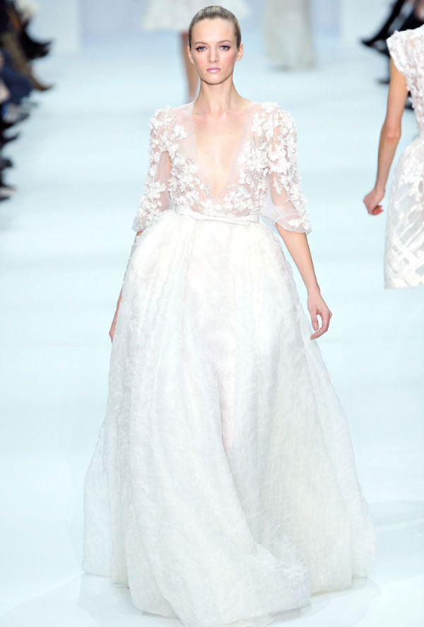 Daily Cup of Couture: Wedding Wednesday: Elegant Elie Saab Gowns