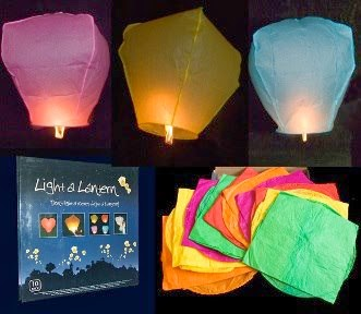 adorable idea to make a sky lantern in simple and easy