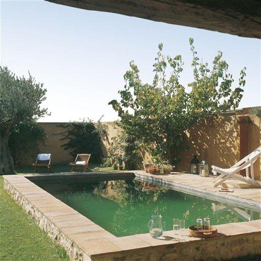 estilo rustico piscinas rusticas actuales