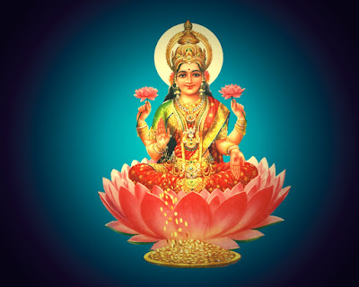 Goddess Laxmi photograph