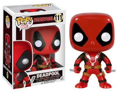 "Deadpool Pop! Marvel Vinyl Figures by Funko - ""Two Swords"" Deadpool"