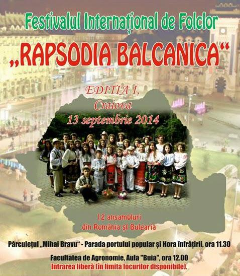 EnJOY Rapsodia Balcanica editia I